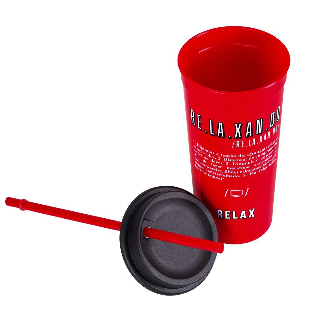 COPO POP COM CANUDO - RELAX