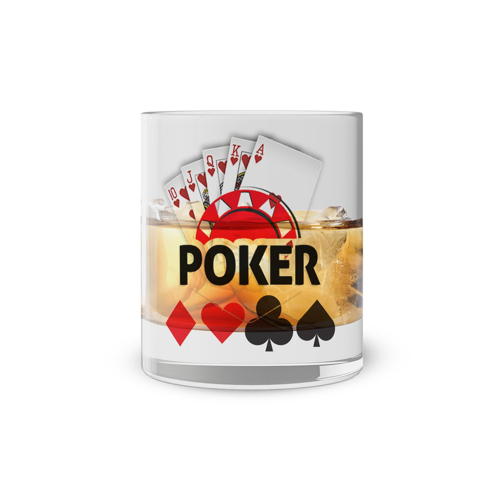Copo Whisky Poker