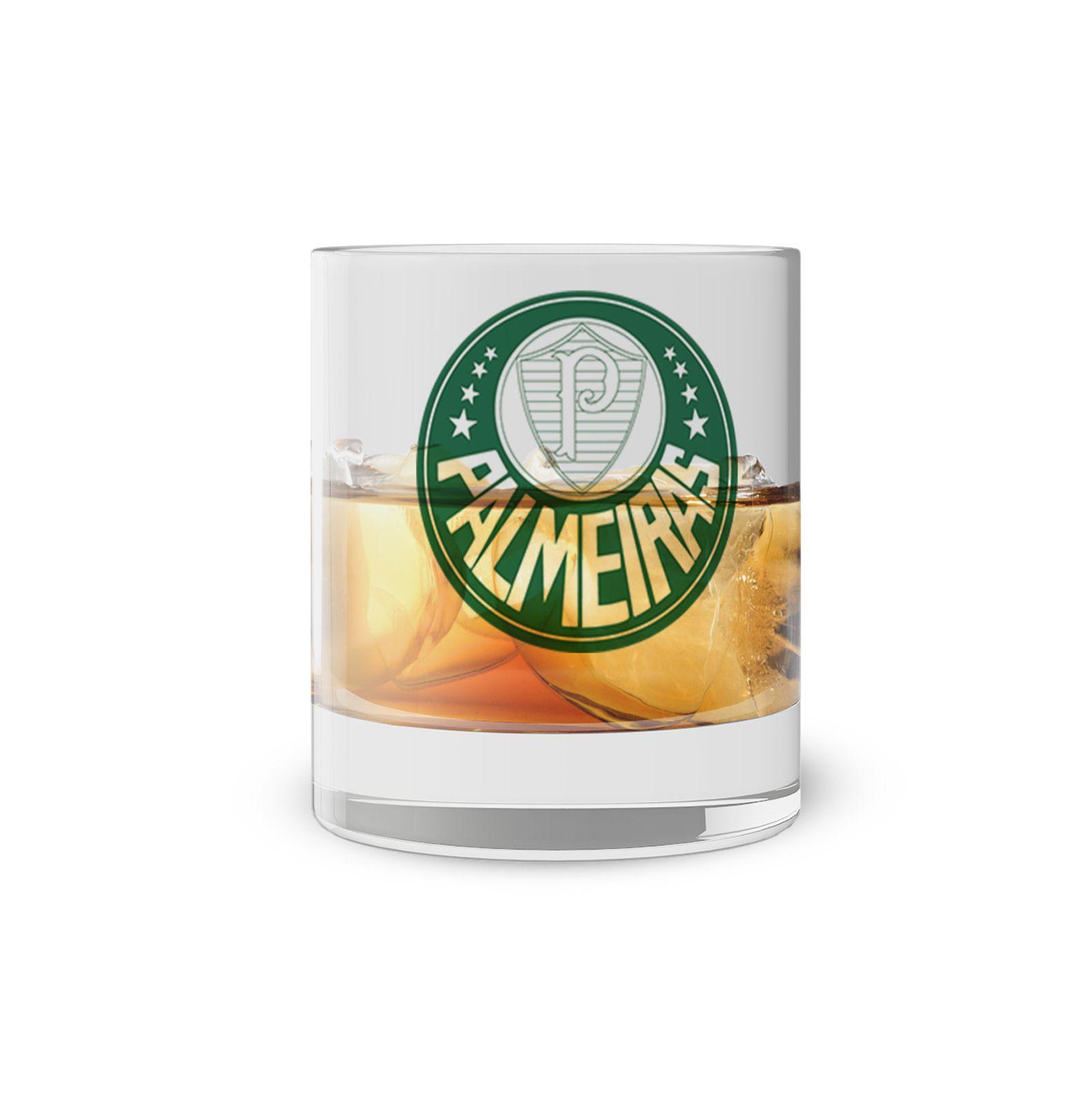 Copo Whisky Times Palmeiras
