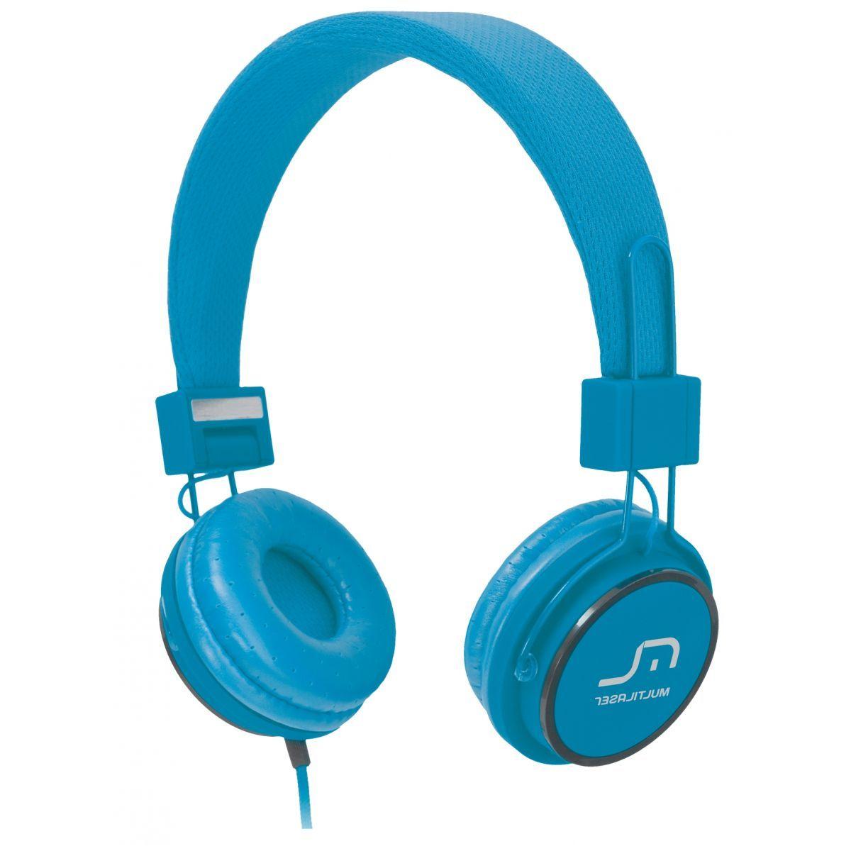Fone de Ouvido com Microfone Headfun - Azul