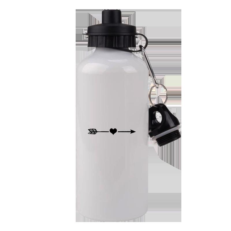 Kit Com 6 Squeezes Brancas Personalizadas