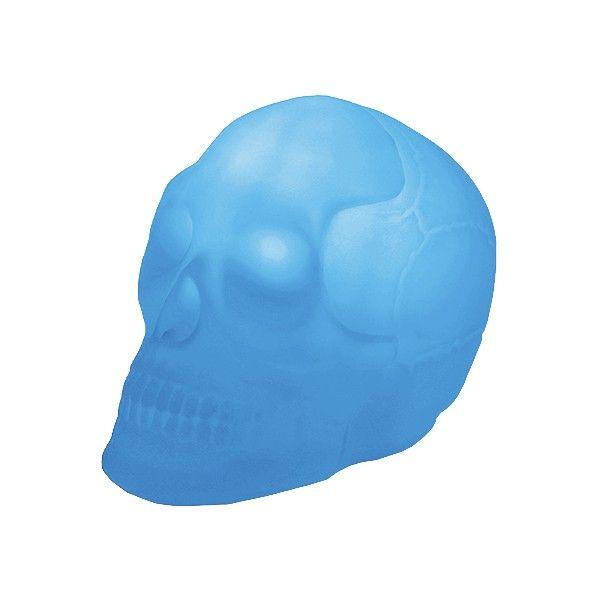 Luminária Caveira Azul Usare