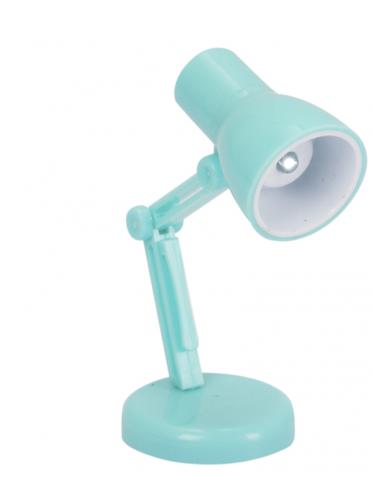 Luminaria Leitura Flex -Turquesa UATT