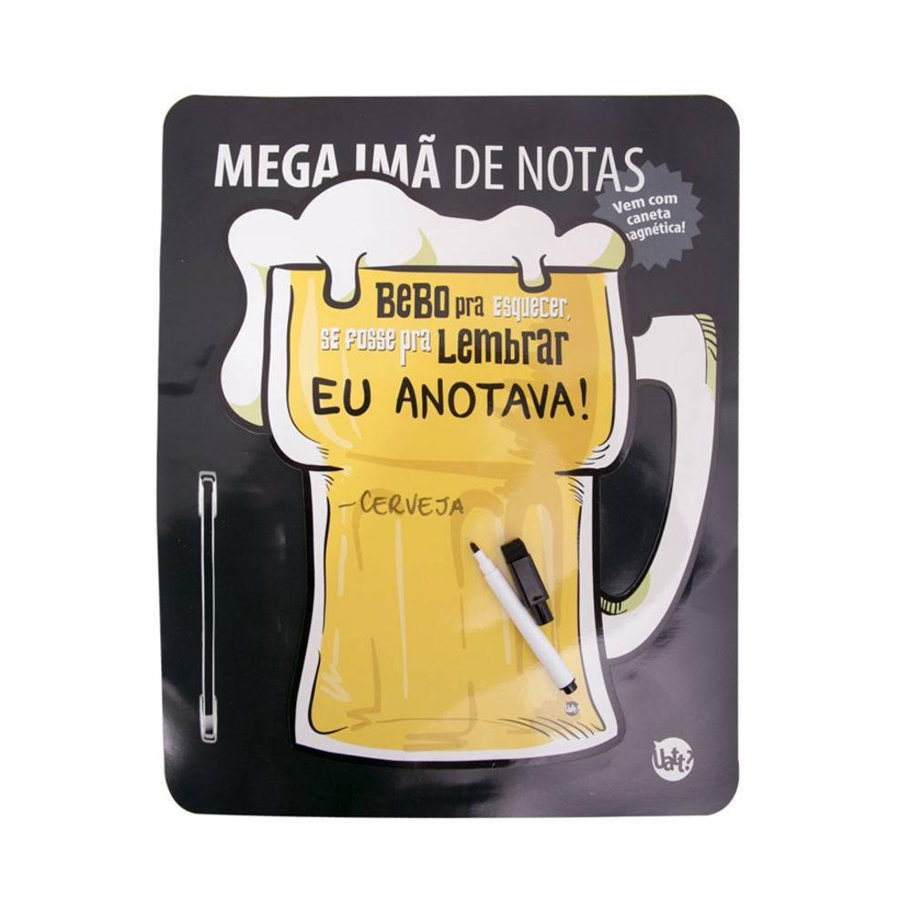 Mega Imã de Notas Cerveja Uatt