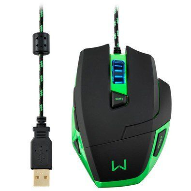 Mouse Multilaser Warrior Gamer Multilaser
