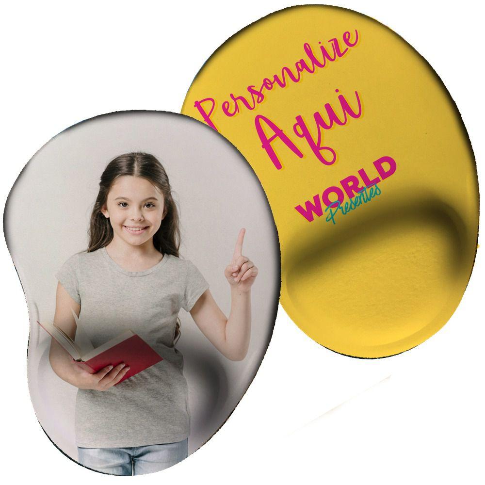 Mouse Pad Personalizado com Descanço