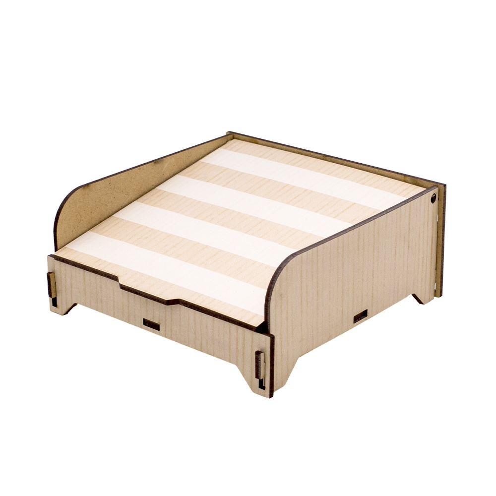 Porta Guardanapo Wood Ideias Ideias