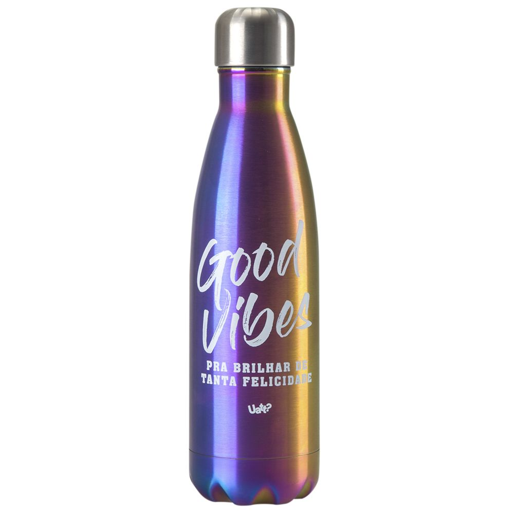 Squeeze Térmico Retro 500ml Good Vibes Uatt