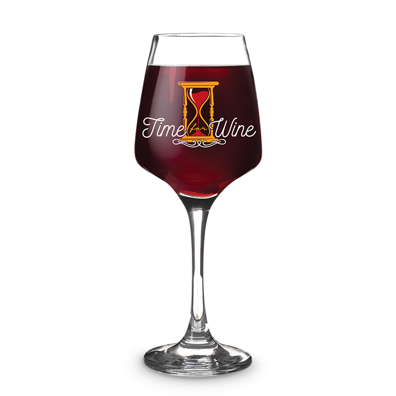 Taça de Vinho 490ml Time For Wine Kathavento
