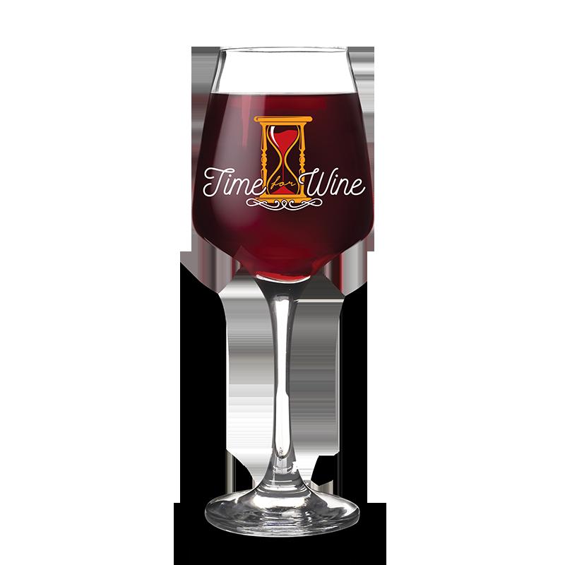 Taça de Vinho 490ml Time For Wine Kathavento