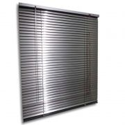 Persiana horizontal de alumínio 25mm cor alumínio 1,50x1,20M