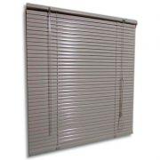 Persiana horizontal de alumínio 25mm cor bege 1,20x1,20M