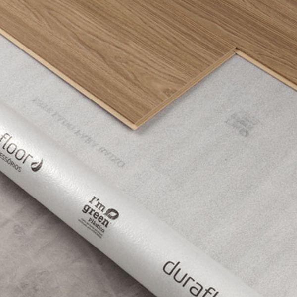 Manta RECICLADO para contrapiso em madeira 1,20 x 17m