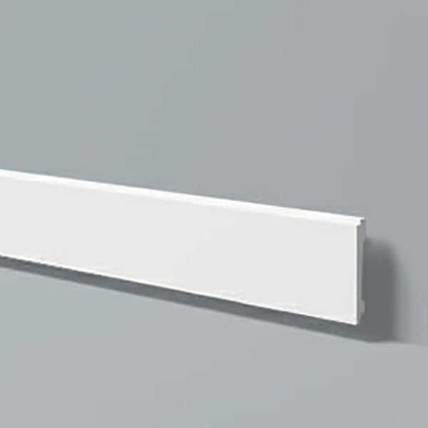 Rodapé em poliestireno estruturado Wallstyl FD1