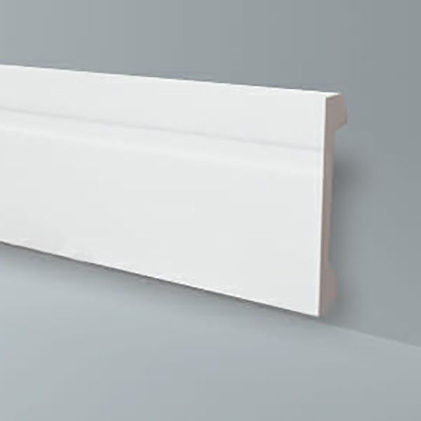 Rodapé em poliestireno estruturado Wallstylcollor FB15