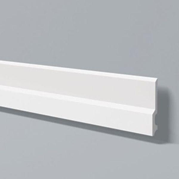 Rodapé em poliestireno estruturado Wallstylcollor FD22