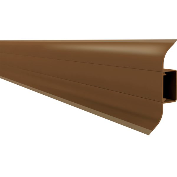 Rodapé PVC Premium 240 x 7 cm - Mogno