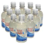 12 Unidades Álcool Em Gel 70% Antisséptico e Hidratante Mori - 230g