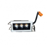 37 Unidades - Kit Personalizado - Spot Led de Embutir Powerlux Luz Morna MBdecor - 5W