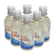 6 Unidades Álcool Em Gel 70% Antisséptico e Hidratante Mori - 230g