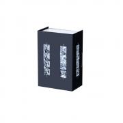 Arandela Black Cristal Led LLUM - 127V 10W