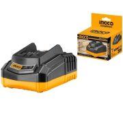 Carregador De Bateria Ferramentas Intercambiáveis Íon-Lítio Inteligente 20v INGCO - BIVOLT