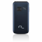 Celular Flip Vita Câmera Rádio MP3 Lanterna Botão SOS Dual C