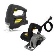Kit Serra Tico Tico 500w + Serra Marmore 1100w Hammer 127V