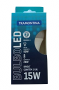 Lâmpada Led Bulbo 15W Tramontina - 6500K