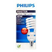 Lâmpada Twister High lumen Philips - 45W 127V