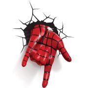 Luminária Mão do Homem Aranha Com Teia FX 3D Light