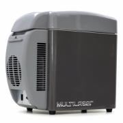Mini Geladeira Cooler Multilaser Automotivo 7 litros 12V Mul