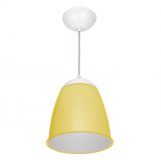 Pendente Compacta Decorativo Estilo Amarelo Ut5-9 Utron
