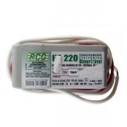 Reator Eletrônico p/ lâmpada halogena 127v/220v Rcg