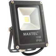 Refletor LED 10W Branco Frio 6000K Maxtel