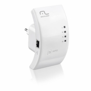 Roteador Repetidor 300Mbps WPS Multilaser - RE051