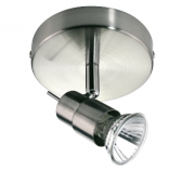 Spot Direcionável Metal Escovado GU10 - Quality