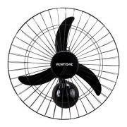 Ventilador De Parede 50cm New Premium Preto 127v Ventisol