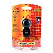 Webcam 1.3 MPX MO-WM72 Destacável Preta