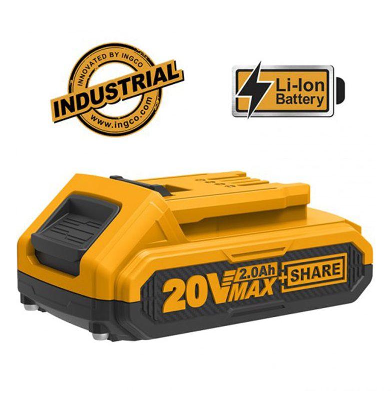 Bateria Para Ferramentas Intercambiáveis Profissional Industrial ÍON-LÍTIO 20V INGCO