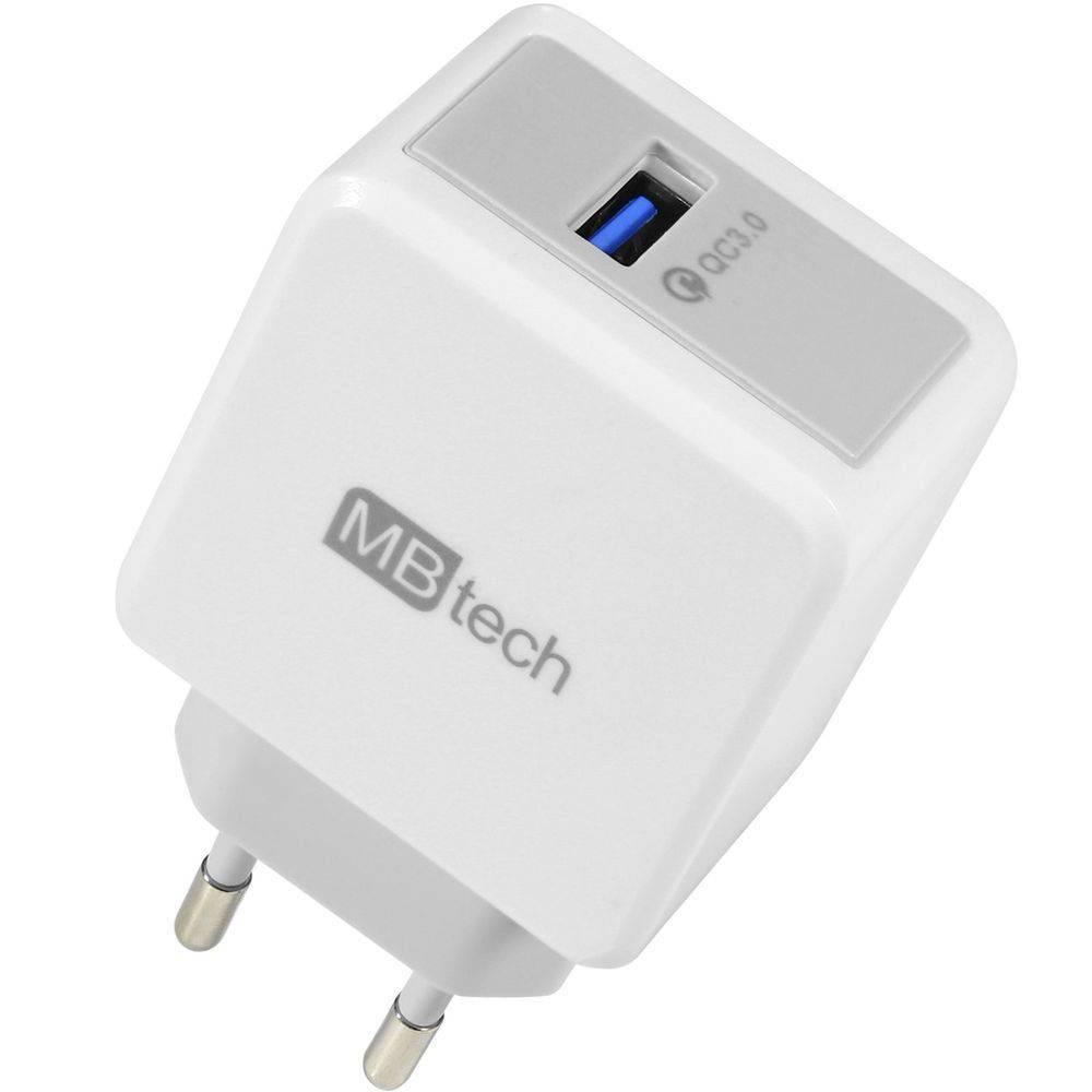 CARREGADOR USB 3.0 TURBO MB72072 MBTECH