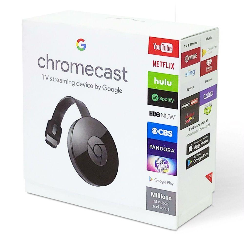 Google Chromecast 2 HDMI Full HD Resolução 1080p Preto
