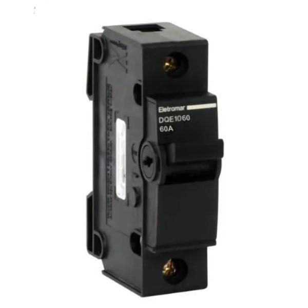Disjuntor Nema Unipolar 60A Eletromar DQE1060