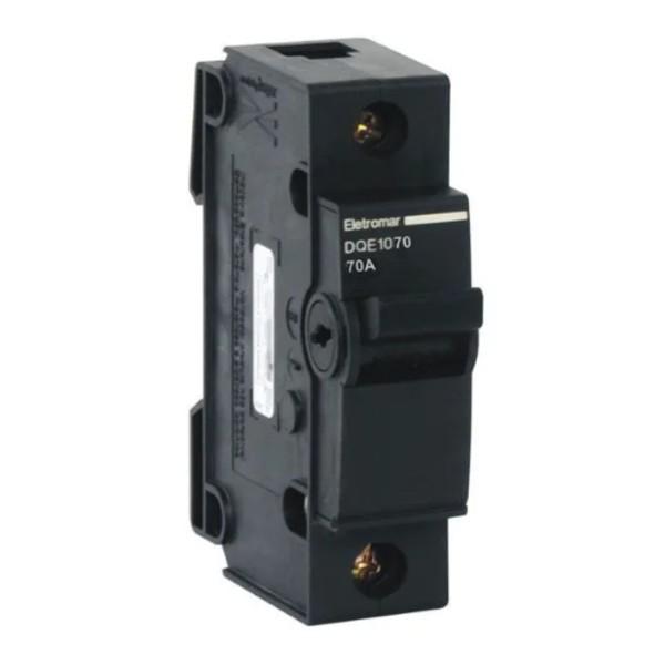 Disjuntor Nema Unipolar 70A Eletromar