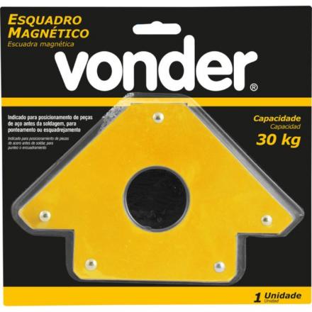 Esquadro magnético para soldador 30kg - Vonder