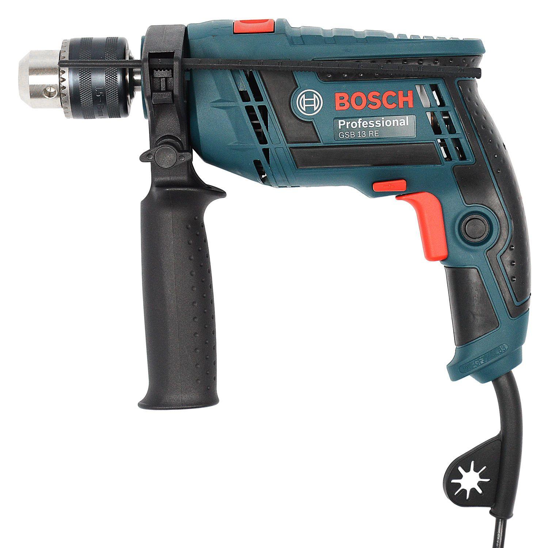 """Furadeira De Impacto Reversivel 1/2"""" 650w Vvr Gsb13re Bosch - 127v"""