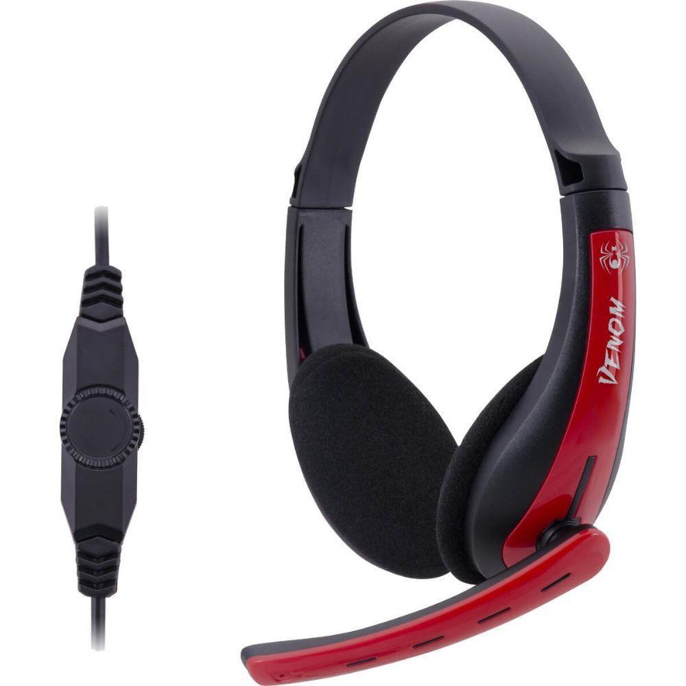 Headset Gamer Spider Venom Pc/Xbox 360 Shs701 Fortrek