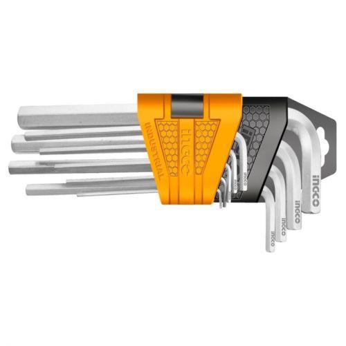 Jogo De Chave Allen Profissional Industrial C/ 9 Peças De 1,5 A 10mm INGCO