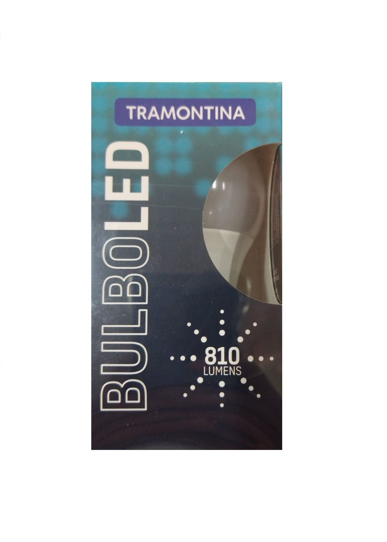 KIT 10 LAMPADAS LED BULBO 9W - 6500K TRAMONTINA