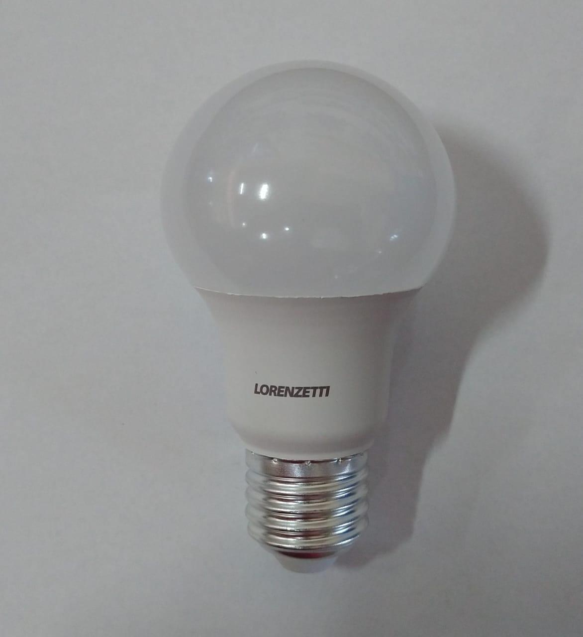 KIT 10 LAMPADAS LED BULBO 9W BRANCA BIVOLT LORENZETTI